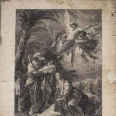 Arte: GR-081. GRABADO. GIOVANNI BATTISTA TIEPOLO. HUIDA A EGIPTO. VENECIA. CIRCA 1750. Lote 55052158