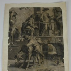 Arte: GR-082. GRABADO. FRANÇOIS RAGOT (1638-1670). THE VISITACIÓN. SIGLO XVII. Lote 55053221