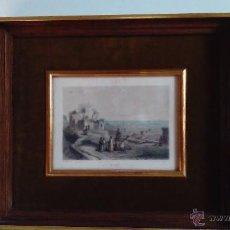 Arte: GRABADO/ESTAMPA DEL PUERTO DE TIRO. CHARLES M. GEOFFROY. Lote 55069581