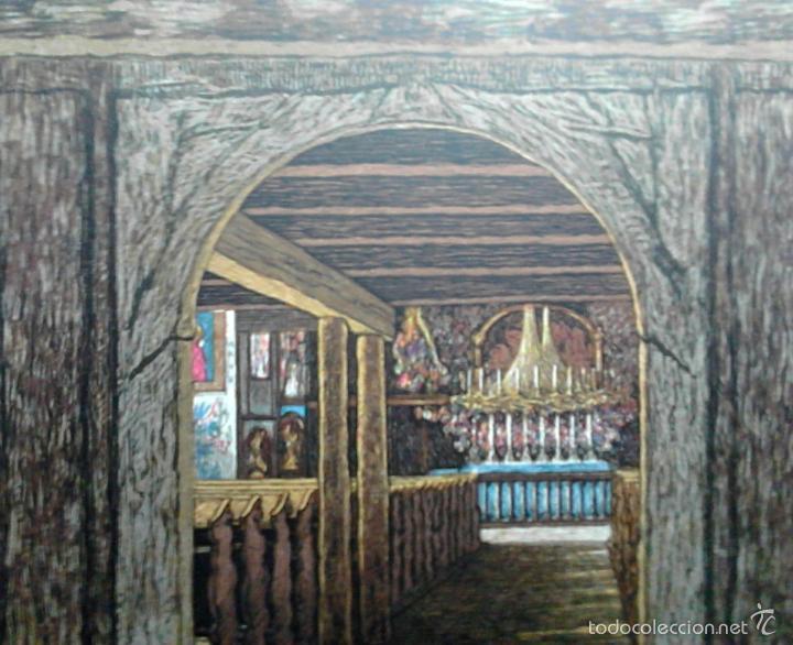 Arte: XILOGRAFÍA KAREL VIK. 1933. Grabado xilográfico a color. Firmado en plancha. Huella 17,2 x 16.8 cm. - Foto 2 - 55144870