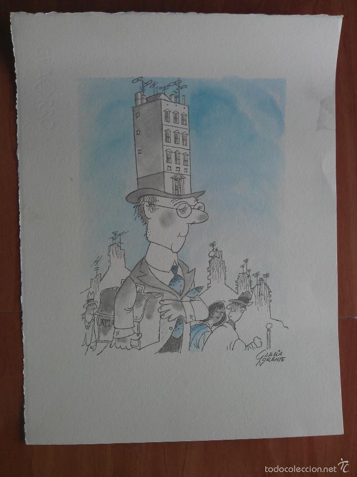 GRABADO DE GARCÍA NORENTE (Arte - Grabados - Contemporáneos siglo XX)