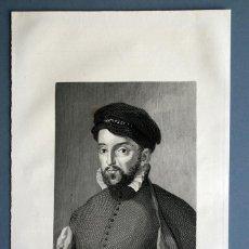 Arte: 1854 - ANTONIO PEREZ - GRABADOR A. ROCA - MARCA DE PLANCHA. Lote 55562372