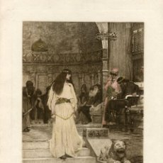 Arte: «MARIANNE» GRABADO PO JAMES DOBIE COPIA DE J.W. WATERHOUSE. Lote 55930835