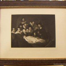 Arte: GRABADO DE REMBRANDT DE 1906 ENMARCADO. Lote 56011500