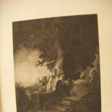 Arte: GRABADO DE REMBRANDT DE 1906. Lote 56016878