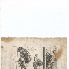 Arte: SIGLO XVIII - GRABADO FRANCÉS. Lote 56023229