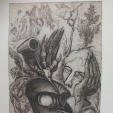Arte: GRABADO DE TÍTULO ' SOUVENIR ALBRECH DÜRER' DESCONOZCO EL AUTOR, ES EL 11 DE 25.. Lote 56146762
