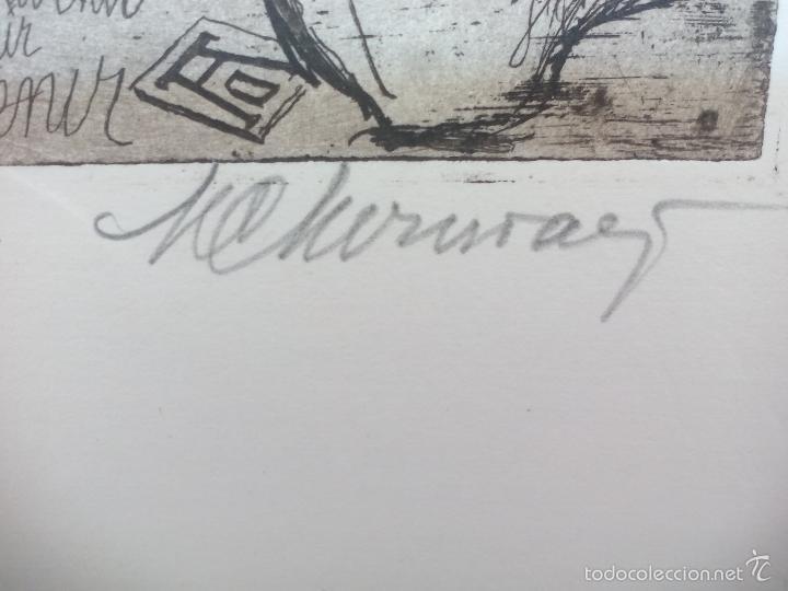 Arte: Grabado de título ' souvenir Albrech Dürer' desconozco el autor, es el 11 de 25. - Foto 4 - 56146762