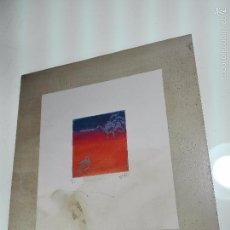 Arte: INTERESANTE GRABADO AGUAFUERTE - OBRA TITULADA ENCUENTRO - P/A - FIRMADO - 96 - . Lote 56150928