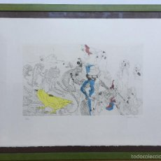 Arte: JORGE CASTILLO CASALDERREY GRABADO 9/50 FIRMADO Y FECHADO A LAPIZ. Lote 56155636