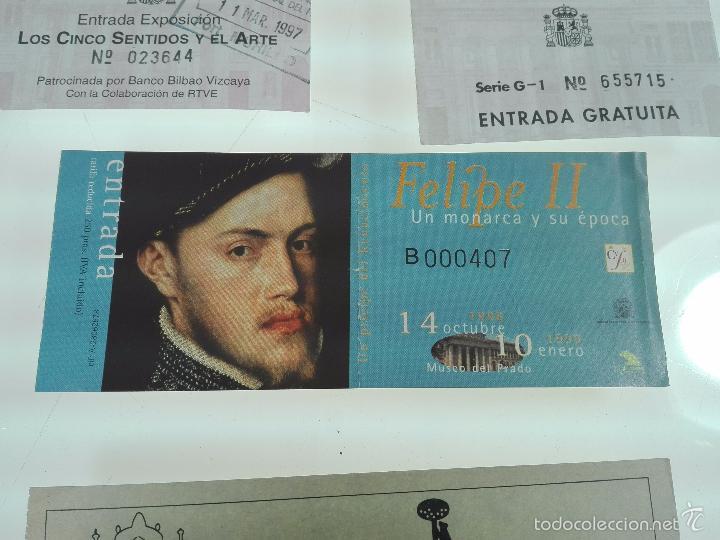 Arte: LOTE DE 4 ENTRADAS MUSEOS - MUSEO DEL PRADO - MUSELO MUNICIPAL - - Foto 3 - 56159312