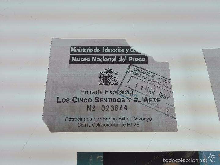 Arte: LOTE DE 4 ENTRADAS MUSEOS - MUSEO DEL PRADO - MUSELO MUNICIPAL - - Foto 4 - 56159312