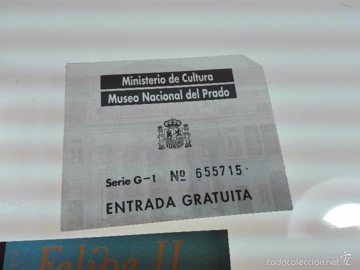 Arte: LOTE DE 4 ENTRADAS MUSEOS - MUSEO DEL PRADO - MUSELO MUNICIPAL - - Foto 5 - 56159312