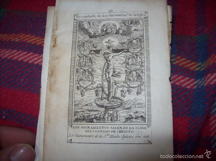 Arte: MAGNÍFICO LOTE DE GRABADOS PERTENECIENTES AL EJEMPLAR CATECISMO DE LOS PADRES RIPALDA Y ASTETE.1800 - Foto 3 - 56175351