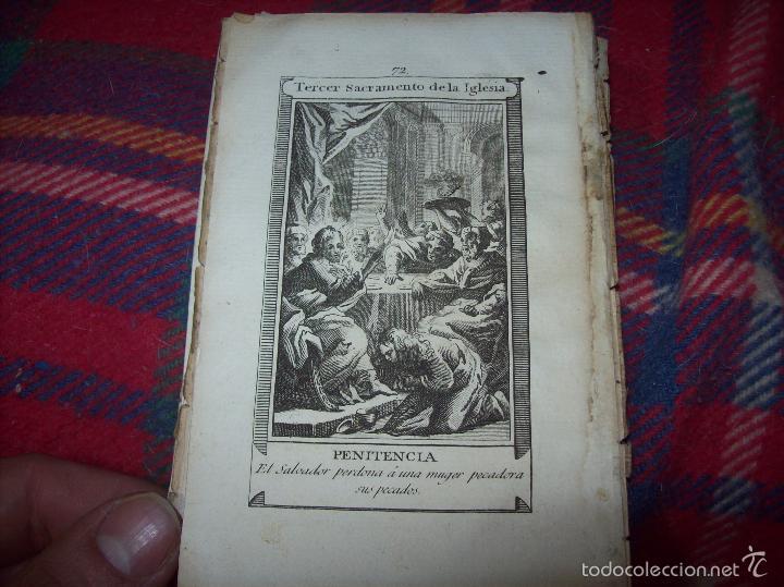 Arte: MAGNÍFICO LOTE DE GRABADOS PERTENECIENTES AL EJEMPLAR CATECISMO DE LOS PADRES RIPALDA Y ASTETE.1800 - Foto 6 - 56175351