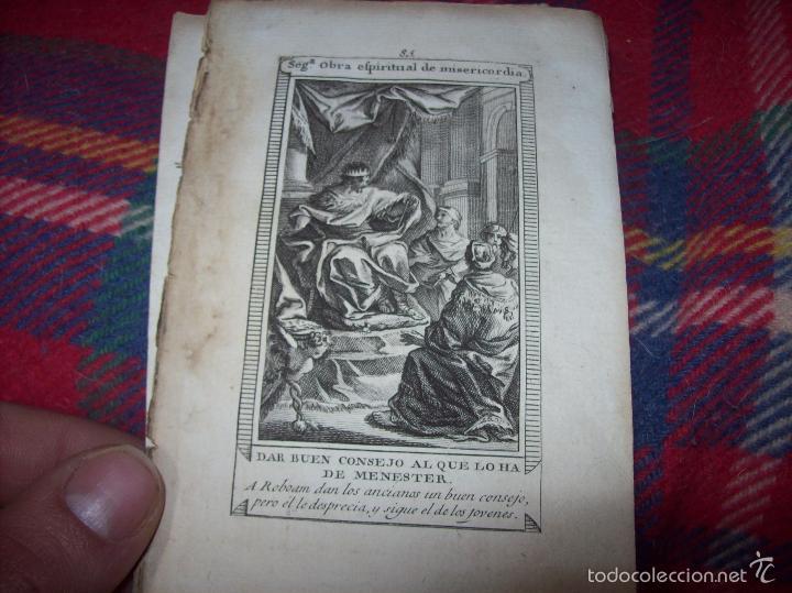 Arte: MAGNÍFICO LOTE DE GRABADOS PERTENECIENTES AL EJEMPLAR CATECISMO DE LOS PADRES RIPALDA Y ASTETE.1800 - Foto 13 - 56175351