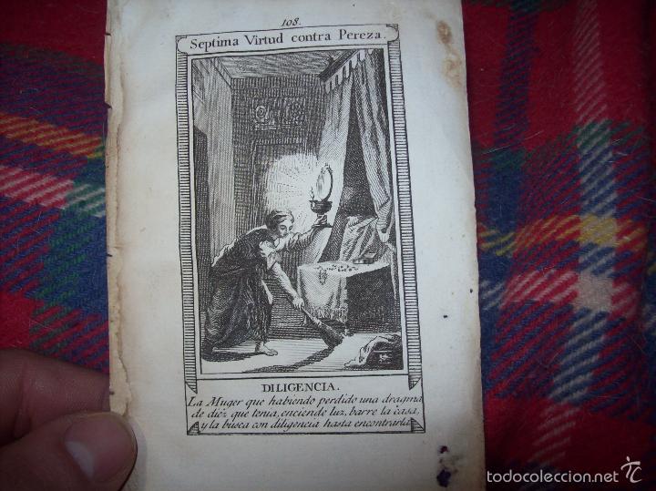 Arte: MAGNÍFICO LOTE DE GRABADOS PERTENECIENTES AL EJEMPLAR CATECISMO DE LOS PADRES RIPALDA Y ASTETE.1800 - Foto 21 - 56175351