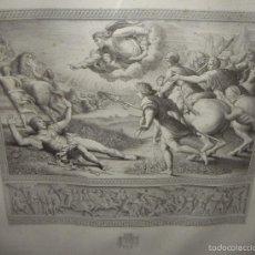 Arte: ANTIGUO GRABADO. S.XIX. RAFFAELE SANZIO. GRAN TAMAÑO.. Lote 56272439