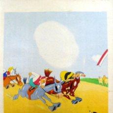 Arte: GRABADO DE DAVID ALVAREZ FLORES PARA LABORDE Y LABAYEN DE TOLOSA (GUIPÚZCOA). CA. 1920. (32X48 CM). Lote 37637883