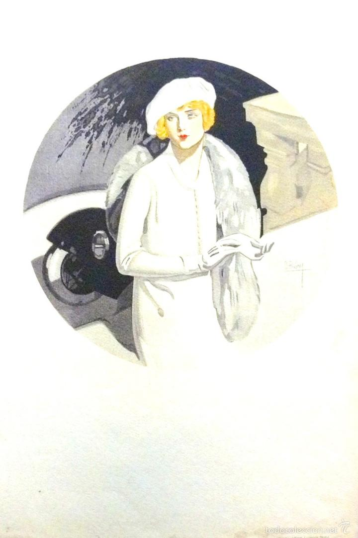 ART-DECO. DAVID ALVAREZ FLORES PARA LABORDE Y LABAYEN DE TOLOSA (GUIPÚZCOA). CA. 1920. (32X48 CM) (Arte - Grabados - Contemporáneos siglo XX)