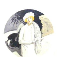 Arte: ART-DECO. DAVID ALVAREZ FLORES PARA LABORDE Y LABAYEN DE TOLOSA (GUIPÚZCOA). CA. 1920. (32X48 CM). Lote 37638838