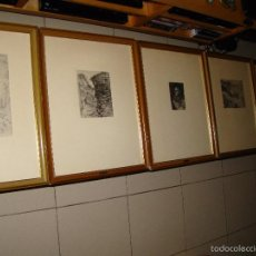 Arte: LOTE DE 5 GRABADOS DE JOAQUIN MIR. Lote 56375776