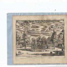 Arte: 1707 - ARANJUEZ - FUENTE DE NEPTUNO - LA FONTAINE DE NEPTUNE - PIETER VAN DER AA. Lote 56388231
