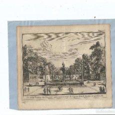 Arte: 1707 - ARANJUEZ - FUENTE DE LAS ARPÍAS - VUE DE LA FONTAINE DES HARPYES - PIETER VAN DER AA. Lote 56388411
