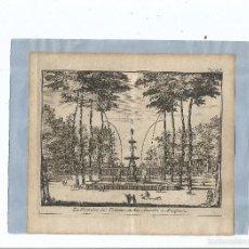 Arte: 1707 - ARANJUEZ - FUENTE DE LOS TRITONES - LA FONTAINE DES TRITONS - PIETER VAN DER AA. Lote 56388461