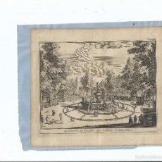 Arte: 1707 - ARANJUEZ - FUENTE DE LOS DELFINES - LA FONTAINE DES DAUPHINS - PIETER VAN DER AA. Lote 56388566