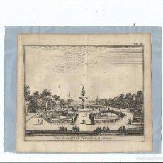 Arte: 1707 - ARANJUEZ - VISTA DE LA GRAN FUENTE - VUE DE LA GRAND FONTAINE - PIETER VAN DER AA. Lote 56388743