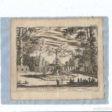 Arte: 1707 - ARANJUEZ - FUENTE DE DON JUAN DE AUSTRIA - PIETER VANDEN BERGE. Lote 56389005
