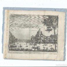 Arte: 1707 - ARANJUEZ - VISTA DEL PALACIO REAL - VEUE DU PALAIS - PIETER VAN DER AA. Lote 56389083