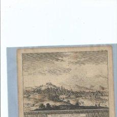 Arte: 1707 - GRABADO - BURGOS CAPITAL DE CASTILLA LA VIEJA - PIETER VAN DER AA. Lote 56400783
