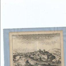 Arte: 1707 - GRABADO - SETENIL SETTENIL CADIZ - PIETER VAN DER AA. Lote 56400824