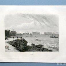 Arte: 1854 - CADIZ - GRABADO - GRAVURE - ENGRAVING. Lote 56462503