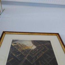 Arte: COMPETENCIA DE ALTITUD.GRABADO DE FRANCISCO SEGOVIA AGUADO.GANADORA DEL XVII PREMIO BMW. AÑO 2003. Lote 56748867