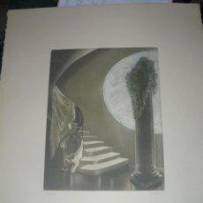 Arte: GRABADO DE RAMIRO UNDABEYTIA - INTERIOR - FIRMADO A LÁPIZ N° 118 DE 175. Lote 56892768