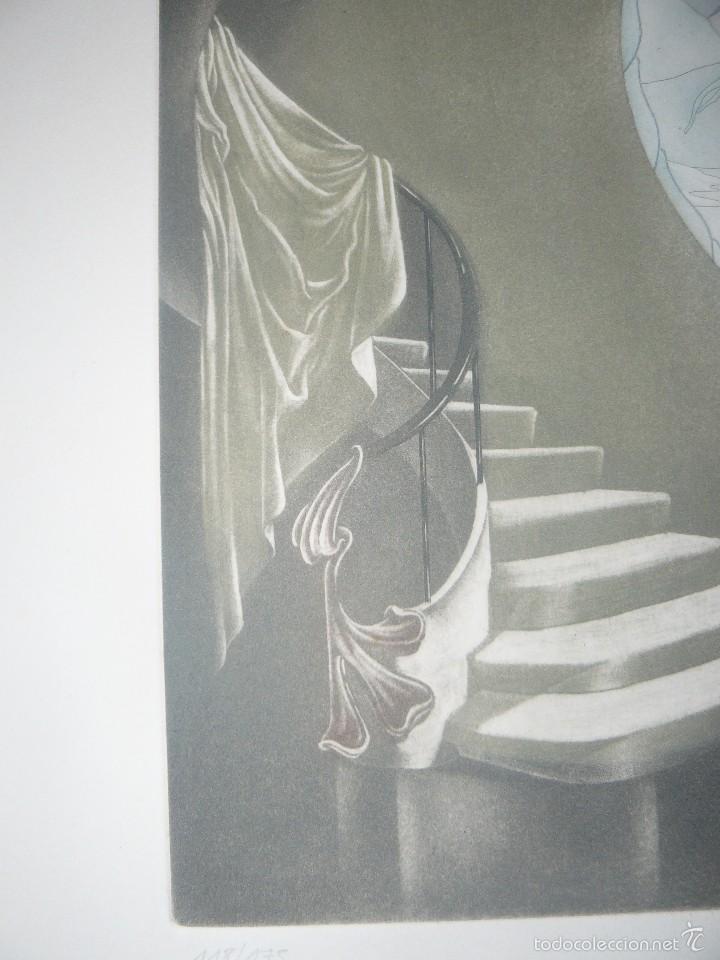 Arte: GRABADO DE RAMIRO UNDABEYTIA - INTERIOR - FIRMADO A LÁPIZ N° 118 DE 175 - Foto 3 - 56892768