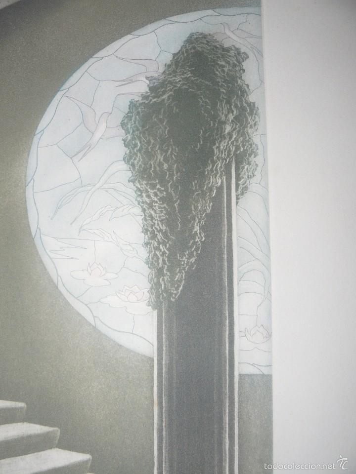 Arte: GRABADO DE RAMIRO UNDABEYTIA - INTERIOR - FIRMADO A LÁPIZ N° 118 DE 175 - Foto 4 - 56892768