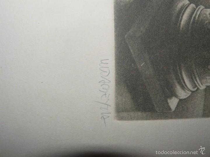 Arte: GRABADO DE RAMIRO UNDABEYTIA - INTERIOR - FIRMADO A LÁPIZ N° 118 DE 175 - Foto 5 - 56892768