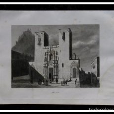 Arte: 1854 - ALICANTE - GRABADO - ENGRAVING - GRAVURE - 244X155MM. Lote 56977351