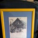Arte: GRABADO PERTENECIENTE AL LIBRO DON QUIJOTE, DE LA EDITORIAL MONTANER SIMON, CAPITULO 1.. Lote 56991822