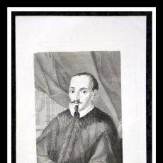 Arte: 1852 - GERONIMO DE ZURITA - GRABADO - ENGRAVING - GRAVURE - 240X155MM. Lote 57017147