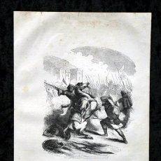 Arte: 1853 - SANCHO EL GRANDE DE NAVARRA - GRABADO - ENGRAVING - GRAVURE - 240X160MM. Lote 57017632