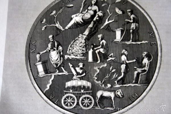 Arte: 1852 - PLATO ROMANO EN VALLE DE OTAÑEZ - GRABADO - ENGRAVING - GRAVURE - 240x153 mm - Foto 2 - 57057921