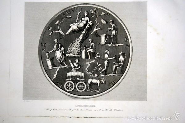 Arte: 1852 - PLATO ROMANO EN VALLE DE OTAÑEZ - GRABADO - ENGRAVING - GRAVURE - 240x153 mm - Foto 4 - 57057921