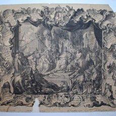 Arte: JOHANN GEORG PINTZ (1697-1767) BATAVUS. . Lote 57067789