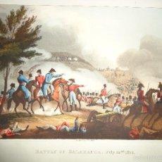 Arte: 1815 - MILITAR - GUERRA DE LA INDEPENDENCIA - BATALLA DE SALAMANCA - 22 JULIO 1812. Lote 57381313