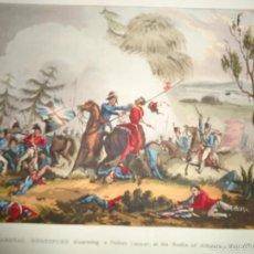 Arte: 1815 - MILITAR - GUERRA DE LA INDEPENDENCIA - BATALLA DE LA ALBUERA BADAJOZ - 16 MAYO 1811. Lote 57381601
